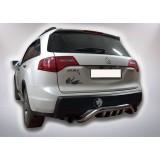 Защита заднего бампера Acura MDX