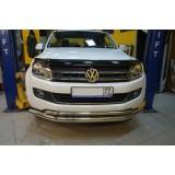 Защита переднего бампера VW Amarok