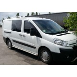 Пороги труба Citroen Jumpy 2007+