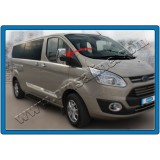 Хром на зеркала Ford Transit Custom 2012+