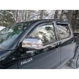 Дефлекторы окон ветровики SIM для Toyota Hilux