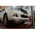 Защита бампера для Toyota Hilux 2012+