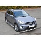 Защита бампера Hyundai Creta