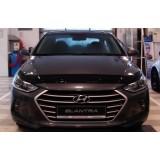 Дефлектор капота Hyundai Elantra 2017+