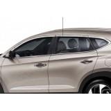 Верхняя окантовка стекол Хендай туксон 2017-2018