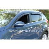 Дефлекторы окон EGR Kia Sportage 2010+
