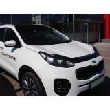 Дефлектор капота SIM Kia Sportage 2016+