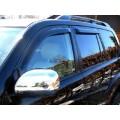 Дефлекторы окон ветровики SIM для Toyota Land Cruiser 100
