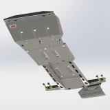 Защита днища ARB LC 200