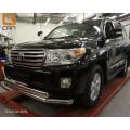 Защита бампера Toyota Land Cruiser 200