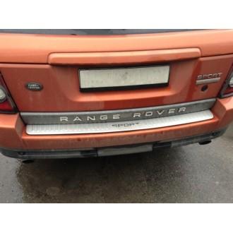 Накладка на задний бампер Range Rover Sport