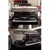 Накладки на бампера Mitsubishi Outlander 2016-2017+