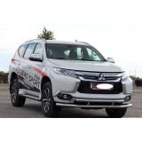 Защита бампера Mitsubishi Pajero Sport 2016+