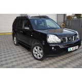 Пороги black Nissan X-Trail T31