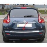 Накладка на задний бампер Nissan Juke