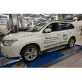 Пороги BMW Mitsubishi Outlander New 2012+