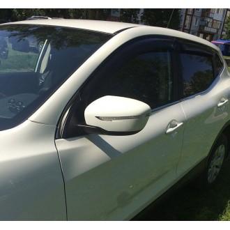 Дефлекторы окон ветровики SIM для Nissan Qashqai 2014+