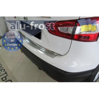 Накладка на бампер Alufrost для Nissan Qashqai II 2014+