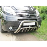Кенгурятник низкий на Opel Vivaro
