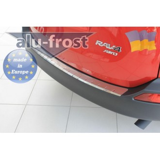 Накладка на бампер Alufrost  для Toyota Rav4 2013+