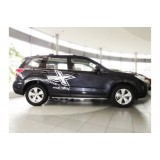 Молдинги на двери Subaru Forester 2013+