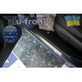 Накладки на пороги Alufrost для Subaru Forester 2013+