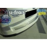 Накладка на бампер Alufrost для Subaru Forester 2013+