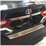 Накладка на задний бампер Toyota Camry V70 2018+