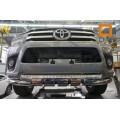 Защита переднего бампера Toyota Hilux 2016+