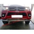 Защита бампера для Toyota Hilux 2017+