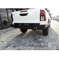 Задний силовой бампер Toyota Hilux 2017+