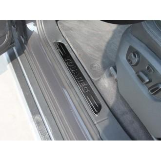 Накладки на пороги VW Touareg 2010+