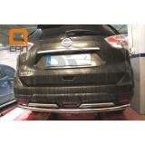 Защита заднего бампера Nissan X-Trail 2014+