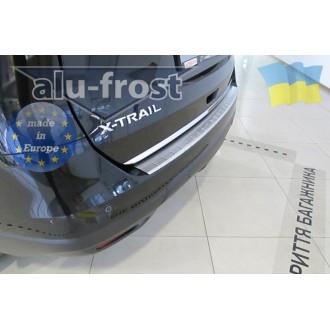 Накладка на бампер Alufrost  для Nissan X-Trail T32 2014+