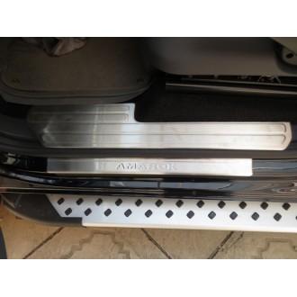 Накладки на пороги VW Amarok