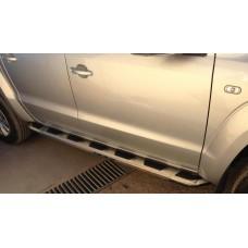 Подножки для VW Amarok