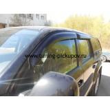 Дефлекторы окон SIM для VW Amarok
