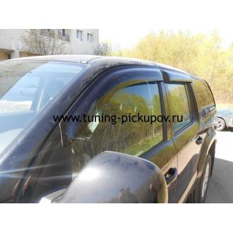 Дефлекторы окон ветровики SIM для VW Amarok
