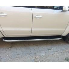 Пороги Tayga VW Amarok