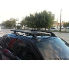 Рейлинги с перемычками VW Amarok