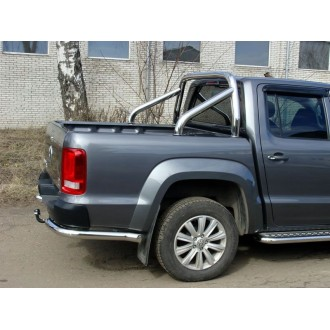 Защита заднего бампера уголки VW Amarok