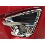 Хром на противотуманки Mazda CX 2015+