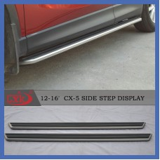 Пороги оригинальный дизайн Mazda CX5