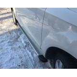 Алюминиевые пороги Mazda CX5