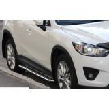 Боковые подножки Mazda CX5