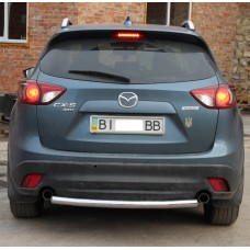 Защита заднего бампера Mazda CX 5 2012+