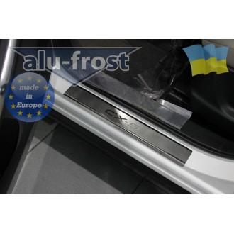 Накладки на пороги Alufrost для Mazda CX5