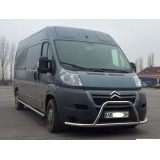 Пороги труба Citroen Jumper 2007+