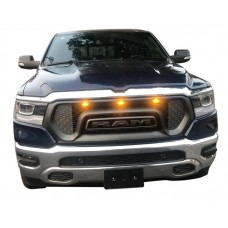 Решетка радиатора стиль Rebel Dodge Ram 2019-2020+
