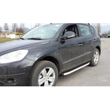 Пороги Geely Emgrand X7